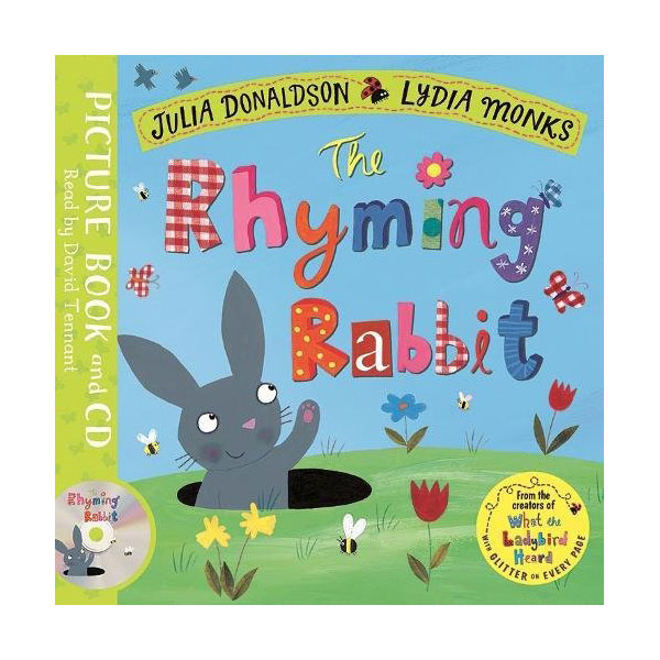 The Rhyming Rabbit (Paperback, Book & CD, 영국판)