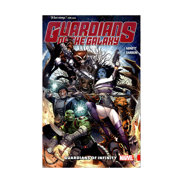 Guardians of the Galaxy : Guardians of Infinity (Paperback)