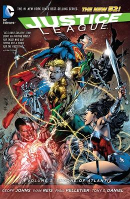 Justice League #3 : Throne of Atlantis (Paperback)