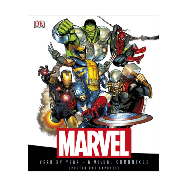 Marvel Year by Year (Hardcover, 영국판)
