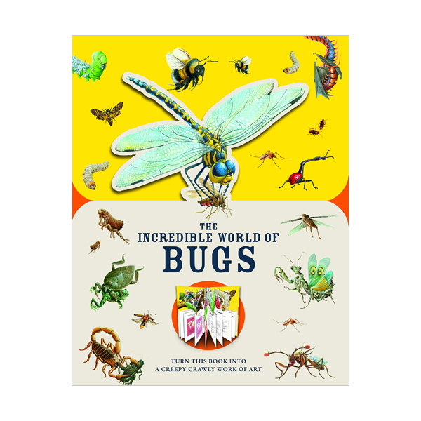 Paperscapes : The Incredible World of Bugs  (Hardcover, 영국판)
