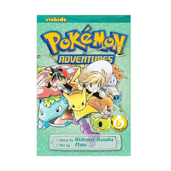 Pokemon Adventures #6 (Paperback)