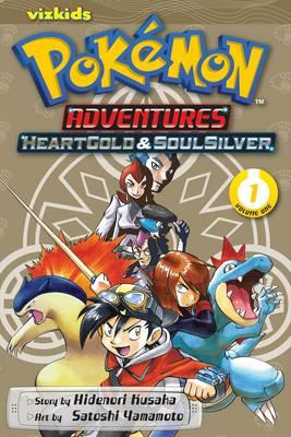 Pokemon Adventures : Heart Gold & Soul Silver VOL 1 (Paperback)