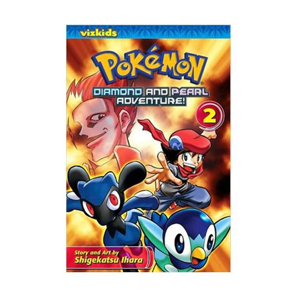 Pokemon: Diamond and Pearl Adventure! #2 (Paperback)
