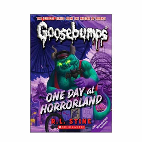Classic Goosebumps #5 : One day At Horrorland (Paperback)