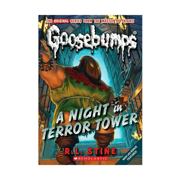 Classic Goosebumps #12 : A Night In Terrror Tower (Paperback)