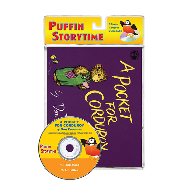 RL 3.7 : Puffin Storytime : A Pocket for Corduroy (Book & CD)