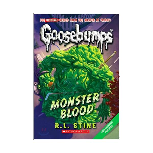 Classic Goosebumps #03 : Monster Blood (Paperback)