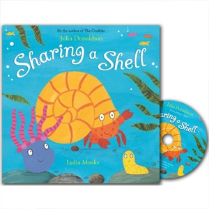 Sharing a Shell (Book & CD)