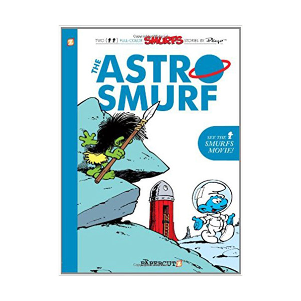 Smurfs Graphic Novels Series #7 : The Astrosmurf (Paperback)