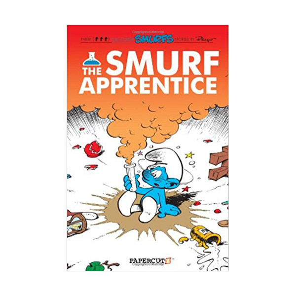 Smurfs Graphic Novels Series #8 : The Smurf Apprentice (Paperback)