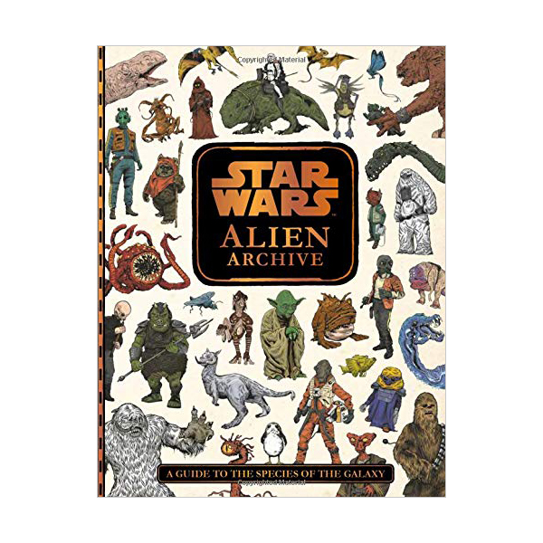 Star Wars : Alien Archive (Hardcover)