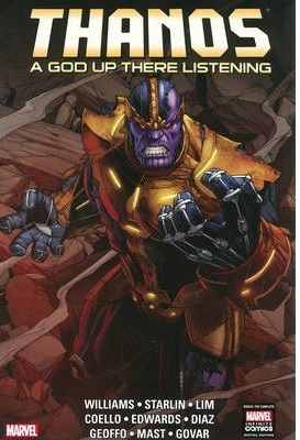 Thanos : A God Up There Listening (Hardcover)