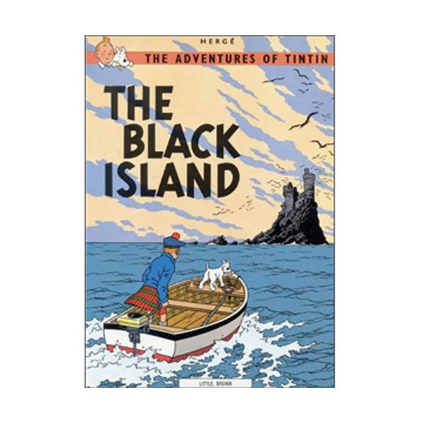 The Adventure of Tintin Series: Black Island (Paperback)