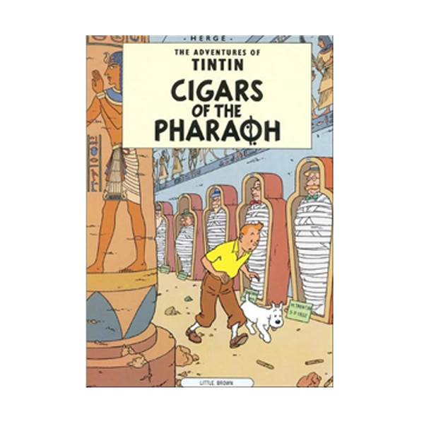 The Adventure of Tintin Series: Cigars of the Pharaoh (Paperback)