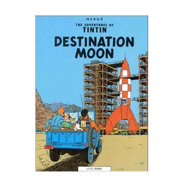 The Adventure of Tintin Series: Destination Moon (Paperback)