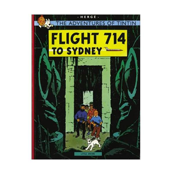 The Adventure of Tintin Series: Flight 714 (Paperback)