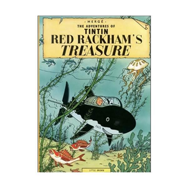 The Adventure of Tintin Series: Red Rackham's Treasure (Paperback)