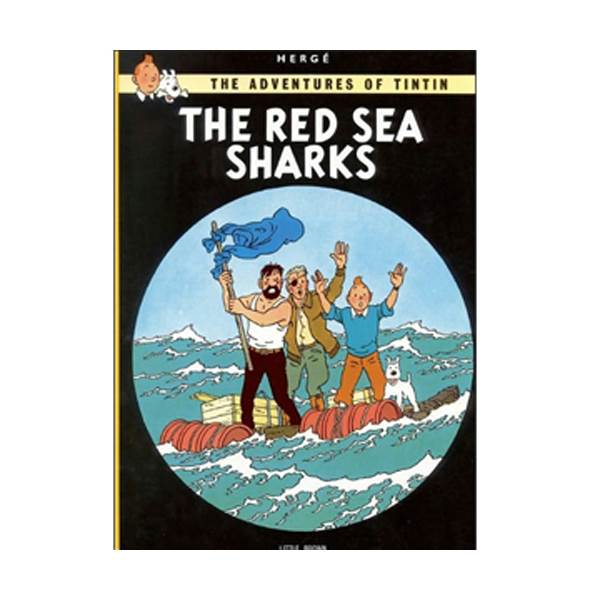 The Adventure of Tintin Series: Red Sea Sharks (Paperback)