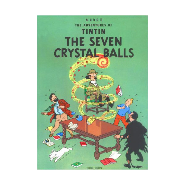 The Adventures of Tintin : The Seven Crystal Balls (Paperback)