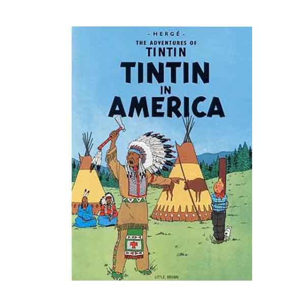 The Adventures of Tintin : Tintin in America (Paperback)