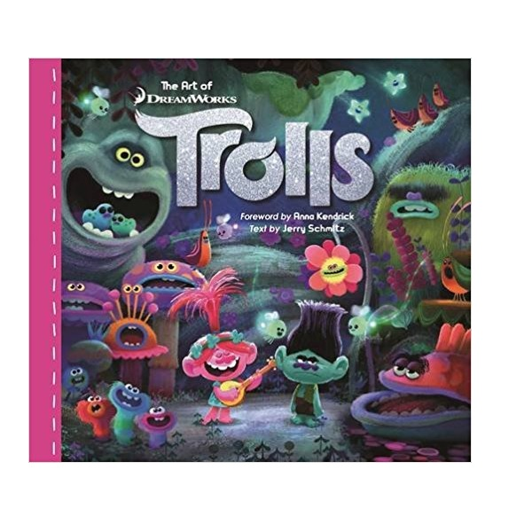 The Art of DreamWorks Trolls (Hardcover)