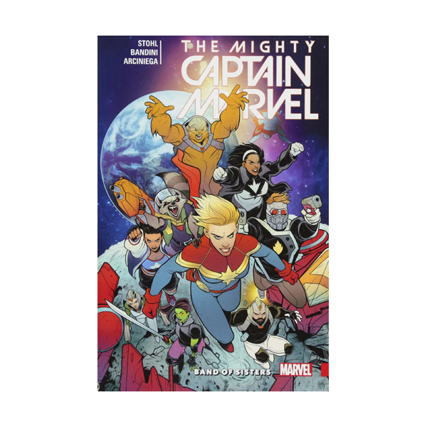 The Mighty Captain Marvel Vol. 2: Band of Sisters (Paperback, 2016-2017)