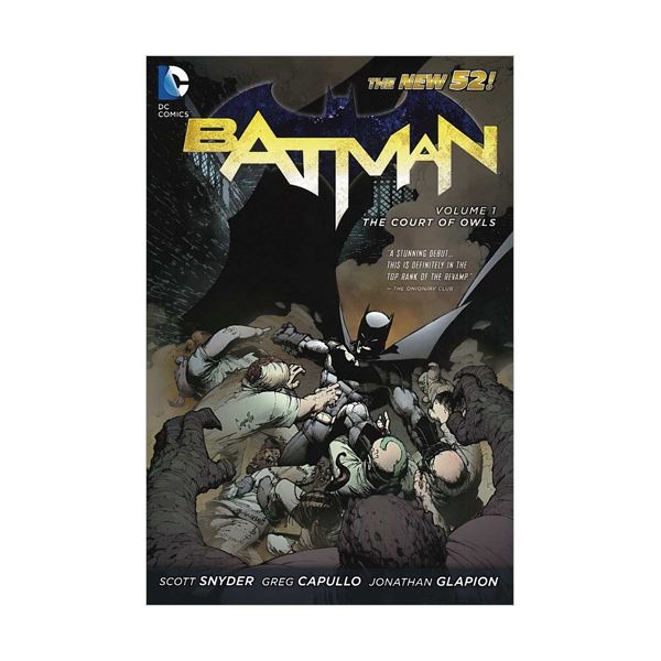 The New 52 : Batman #1 : The Court of Owls (Paperback)