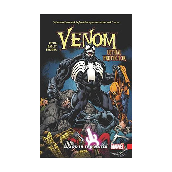Venom Vol. 3: Lethal Protector - Blood in the Water (Paperback)