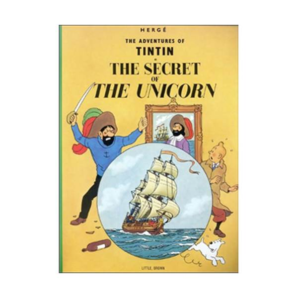 [가격인하] The Adventure of Tintin Series: The Secret of the Unicorn (Paperback)