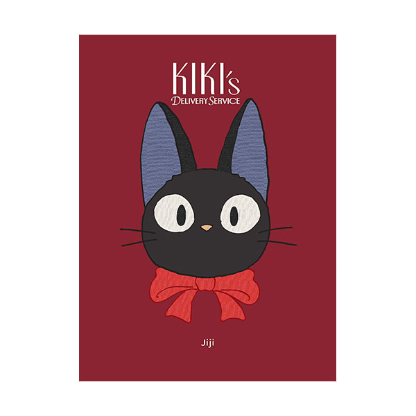 Kiki's Delivery Service : Jiji Plush Journal (Plush-cover, Note)