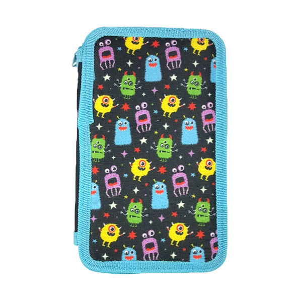 Monster Double Tier Filled Pencil Case