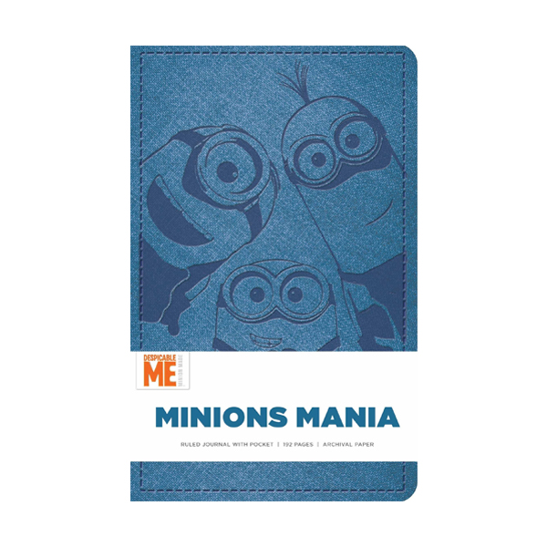 Minions Mania Hardcover Ruled Journal (Hardcover)