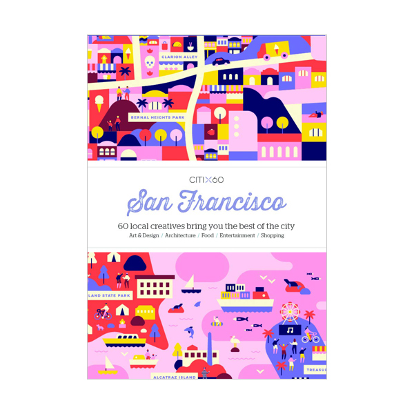CITIx60 City Guides - San Francisco (Paperback, 영국판)