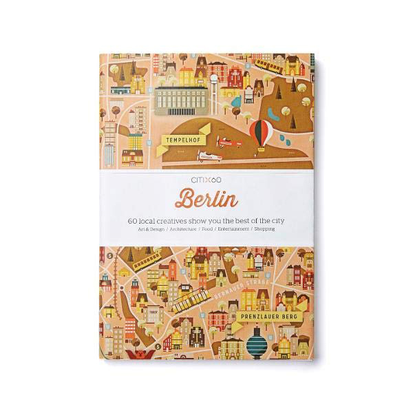 CITIx60 City Guides - Berlin (Paperback, 영국판)