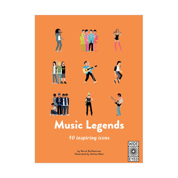 40 Inspiring Icons : Music Legends : Meet 40 pop and rock stars (Hardcover, 영국판)