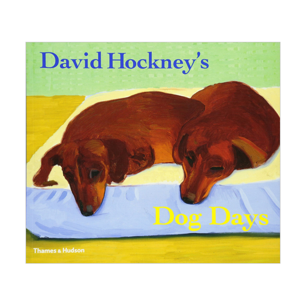 David Hockney's Dog Days (Paperback, 영국판)