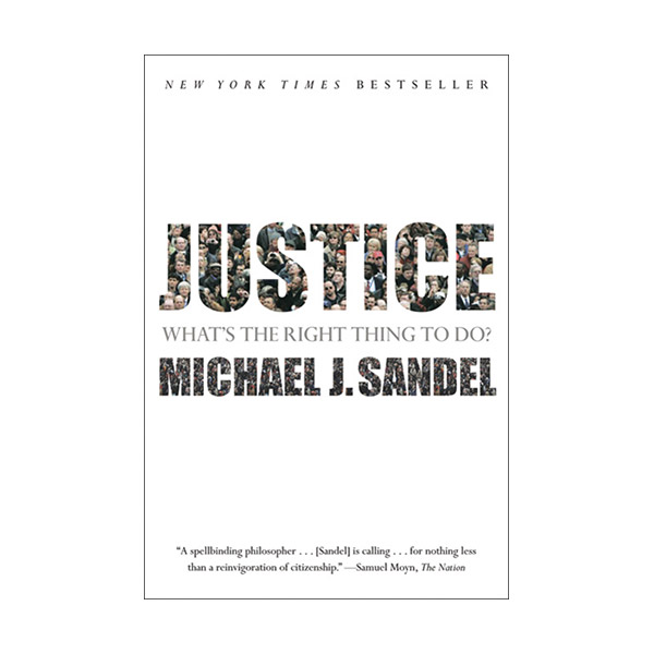 [요즘책방 13회] Justice : What's the Right Thing to Do? (Paperback)