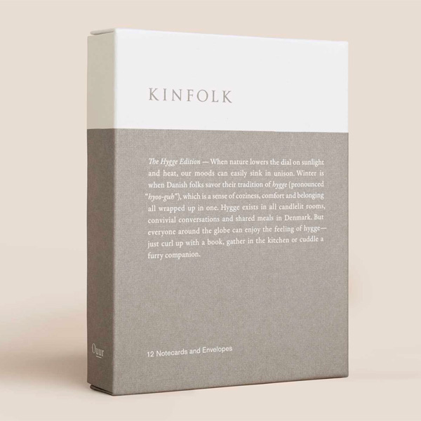 Kinfolk Notecards - The Hygge Edition (Paperback)