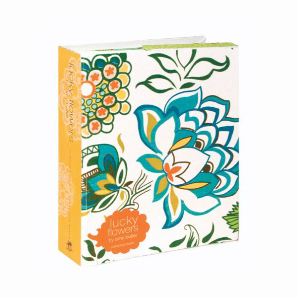 Lucky Flowers Notecard Book (Cards)