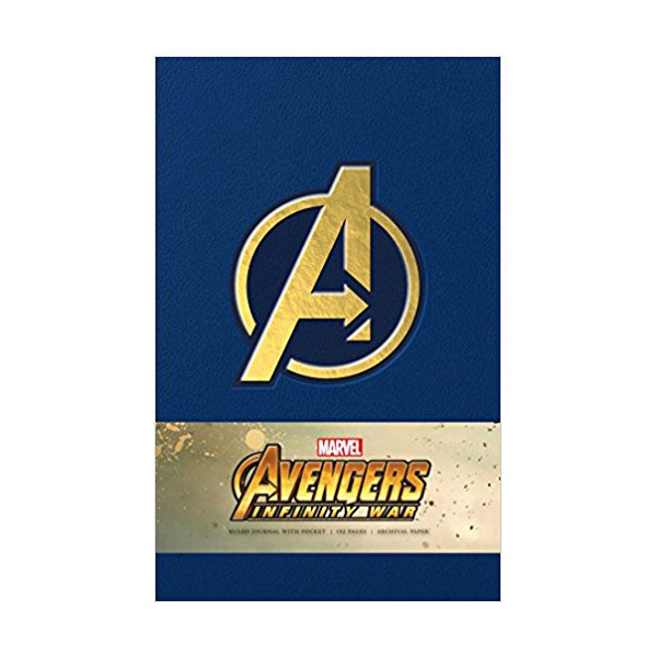 Marvel's Avengers: Infinity War Hardcover Ruled Journal (Hardcover)