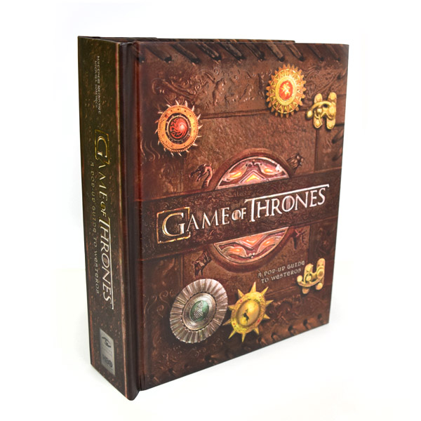 Game of Thrones : A Pop-Up Guide to Westeros (Hardcover, Pop-Up)