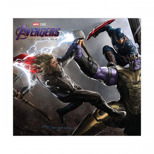 Marvel's Avengers : Endgame - The Art of the Movie (Hardcover)