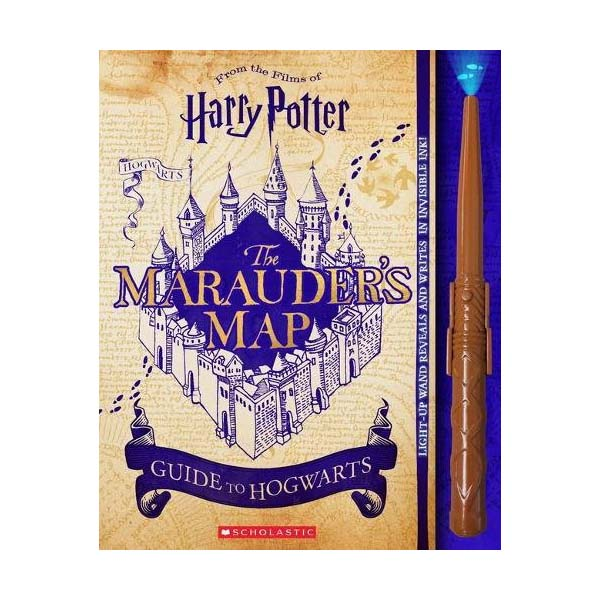 Harry Potter : The Marauder's Map Guide to Hogwarts (Hardcover)