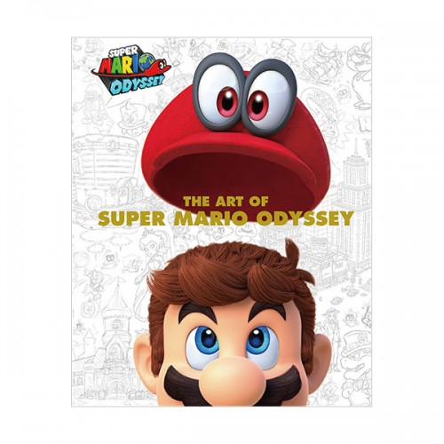 The Art of Super Mario Odyssey (Hardcover)