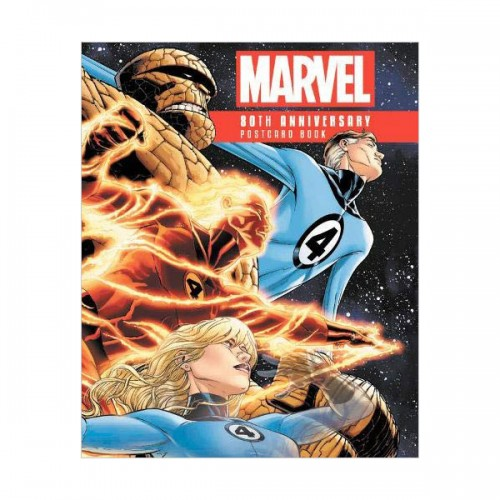 Marvel 80th Anniversary Postcard Book (Hardcover)