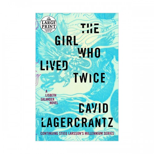 Millennium Series #06 : The Girl Who Lived Twice (Paperback, INT)