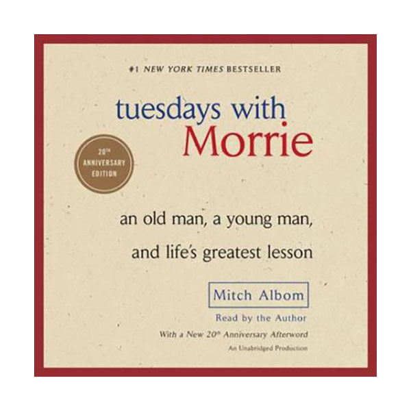 Tuesdays With Morrie : Audio CD (4 Audio CDs, Unabridged)
