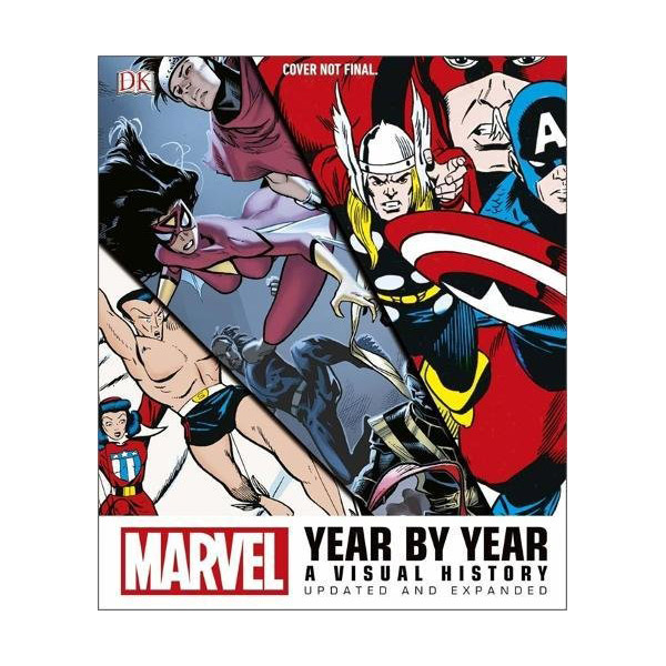 Marvel Year by Year Updated and Expanded : A Visual History (Hardcover, 영국판)