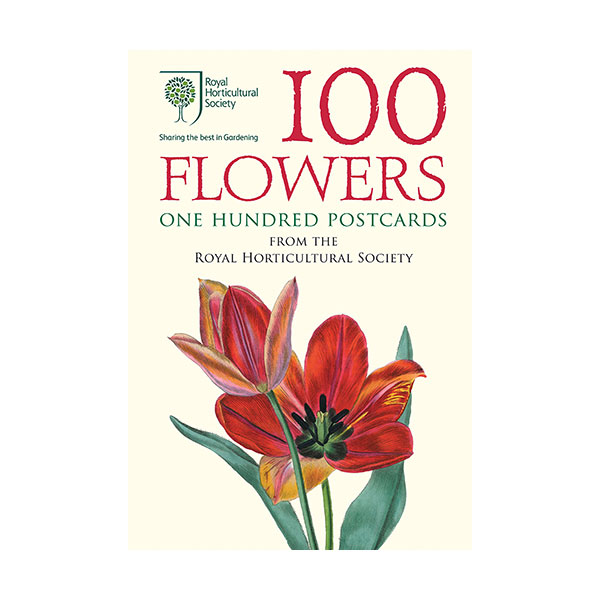 100 Flowers : One Hundred Postcards from the Royal Horticultural Society (Cards)
